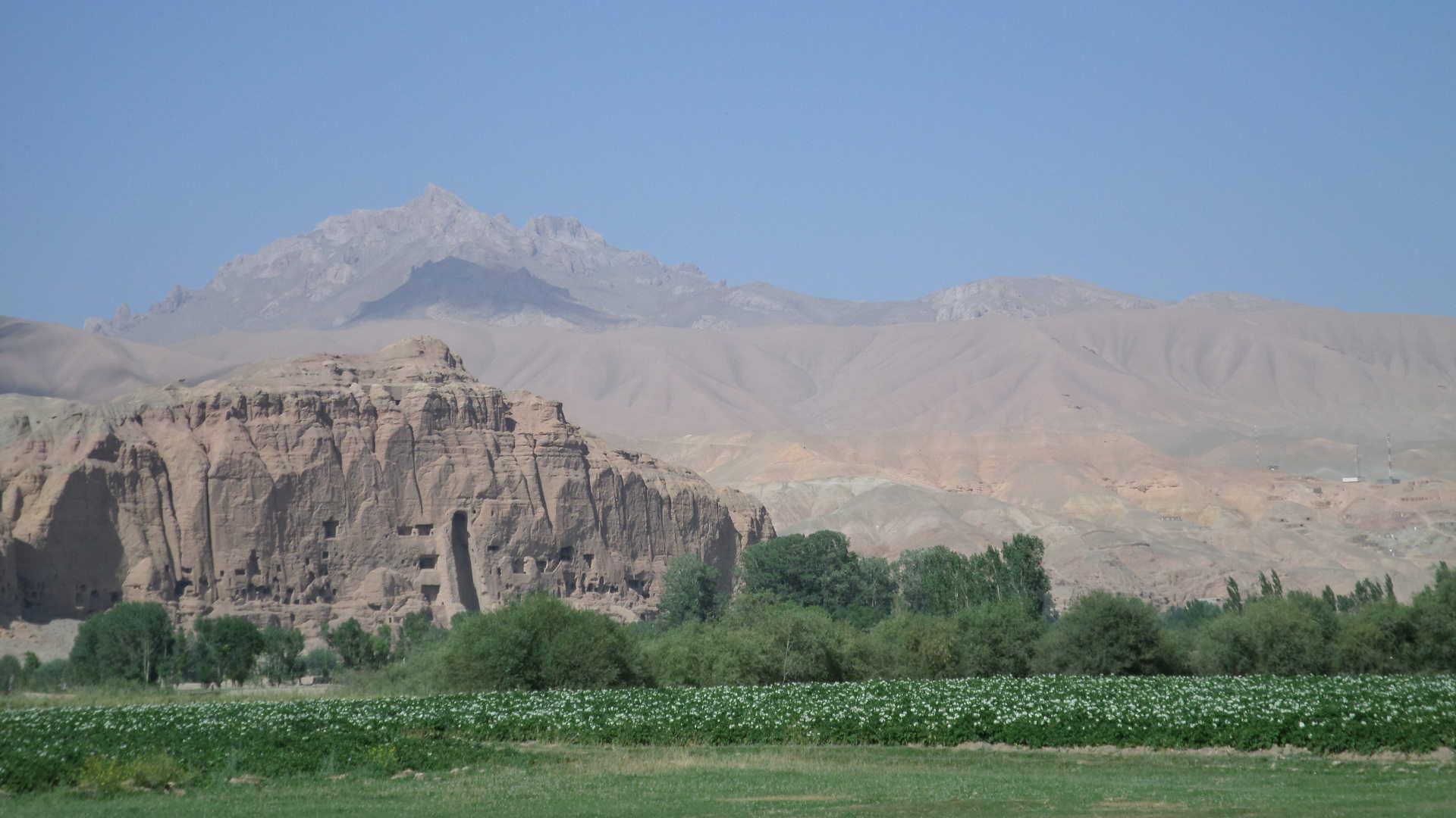 Afbeelding: Afghanistan, Boeddha's van Bamyan Opgeblazen Door Taliban