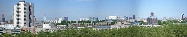 Rotterdam, De Esch: panoramafoto