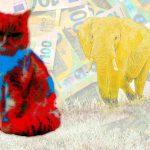 Dumbo en Hema: Olifant Werkt Samen met Kat in Zak