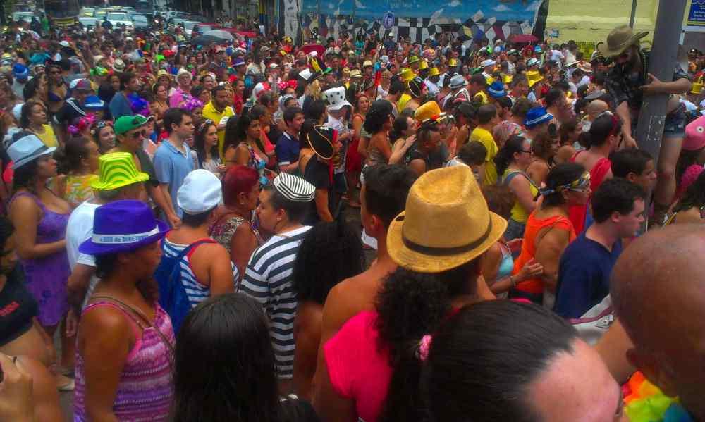 carnavalsvierder in rio de janeiro
