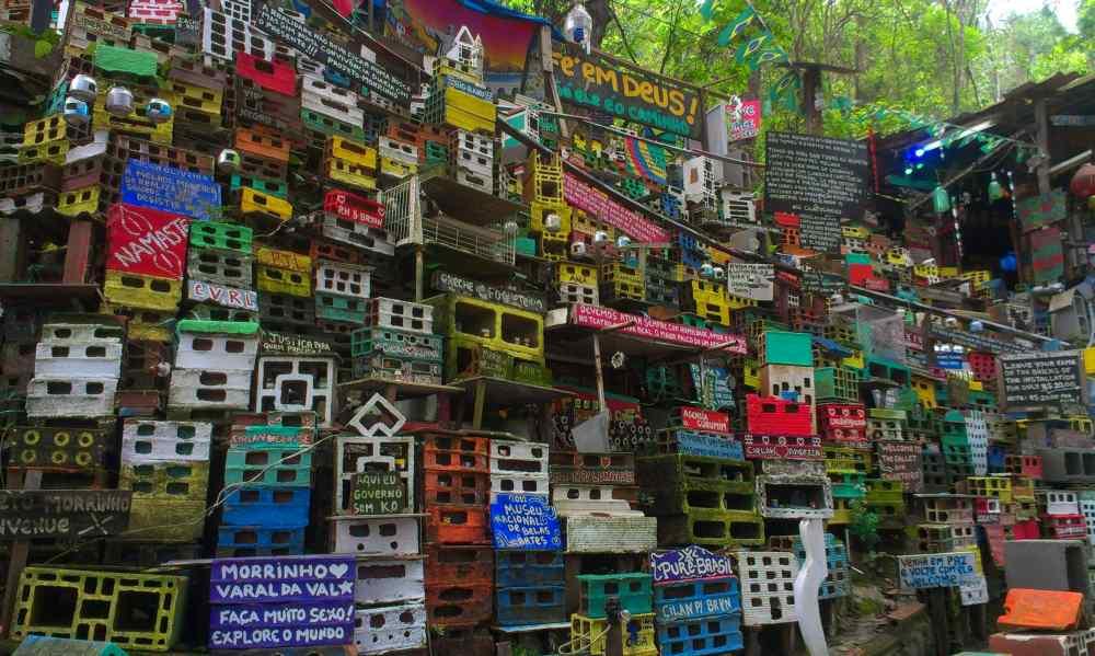 morrinho project in de sloppenwijken (favella's) van rio de janeiro