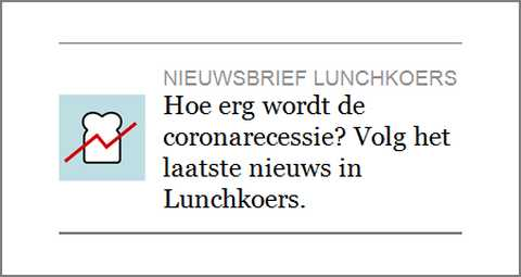 Afbeelding: nieuwsbrief NRC krant met suggestieve, vragende tekst.
