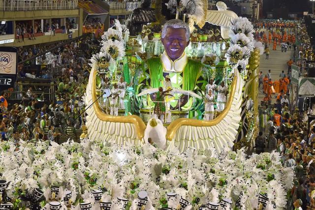 sambadome nelson mandela carnaval in rio de janeiro imperatriz leopoldinense