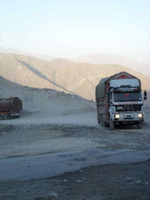 salang tunnel truck
