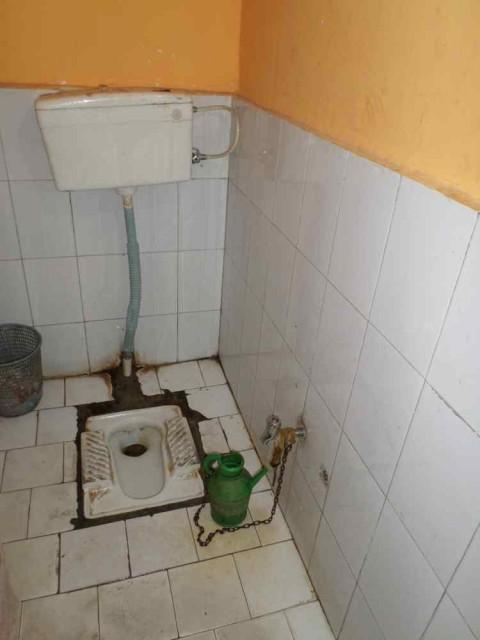 schoonste toilet van de reis